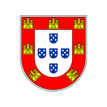Portugal Small Coat Of Arms, C...