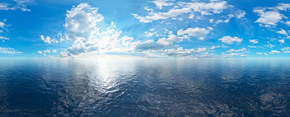 offener Ozean 360° panorama