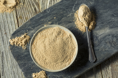 Photo Dry Organic Maca Powder Superfood