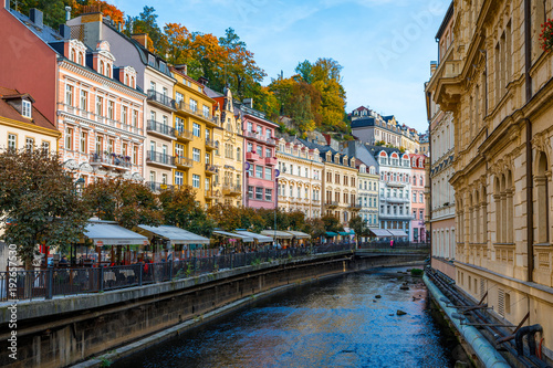 Photographie Architecture of Karlovy Vary (Karlsbad), Czech Republic