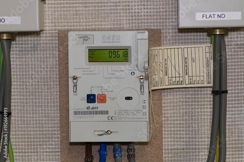 Fotografie, Obraz  A Smart Electricity Meter