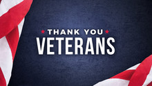 Thank You Veterans Text With A...