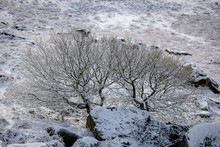 Winter Snow In The Peak District