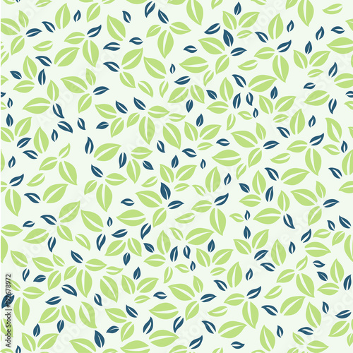 Leaves Pattern Simple Leaves Pattern Natural Pattern For