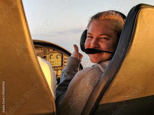 Student pilot Fototapet