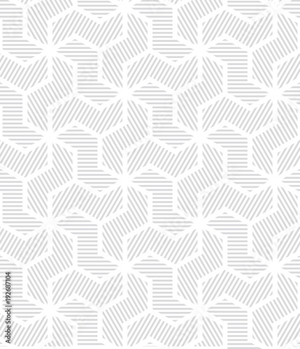 Fotomural Abstract geometric pattern with lines