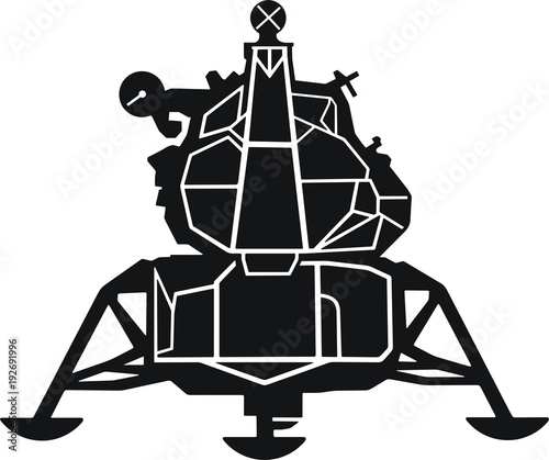 Apollo Lunar Module Canvas Print