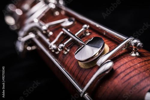 Fototapeta Part of a bassoon obraz