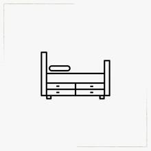 Shelf Line Icon