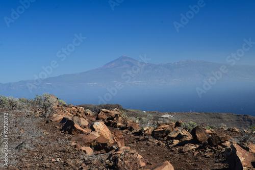 Keuken foto achterwand Chocoladebruin La Gomera: hike from Playa de Santiago to San Sebastian