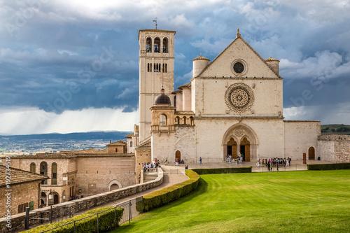 Photo Basilica of Saint Francis of Assisi - Assisi,Italy