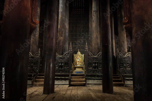 Stampa su Tela  Bagaya Monastery, Inwa, Mandalay