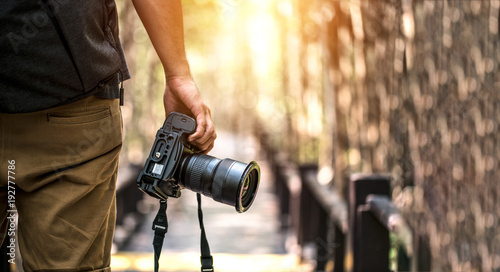 Obraz Nature Photography Concepts Professional photographer - fototapety do salonu