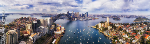 D Sy Lavender Bay Pan Canvas Print