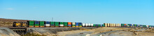 Long Cargo Trains Passing By I...