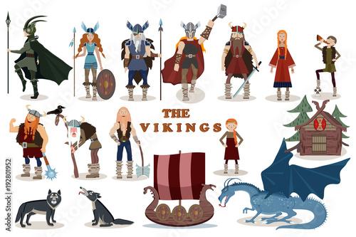 The Vikings Wallpaper Mural