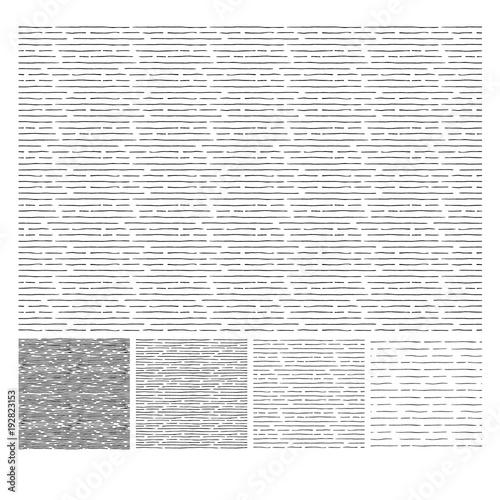 Pattern of horizontal hatching grunge texture Canvas-taulu