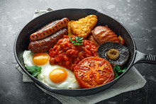 Full English Breakfast With Ba...