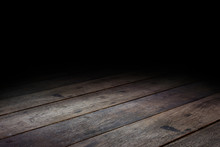 Floor Wood Dark Plank Wood Floor Texture Perspective Background For Display Or Montage Of Product,Mock Up Template For Your Design