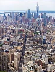 Fototapeta Nowy York Lower Manhattan Skyline, NYC, USA