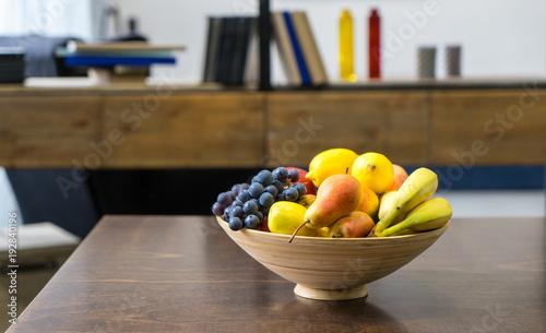 Foto op Aluminium Vruchten fruit in a plate