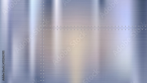metal background with texture and rivets riveted metal sheets with