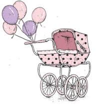 Beautiful Vintage Baby Strolle...