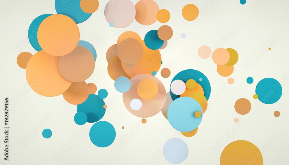 abstract circle colors