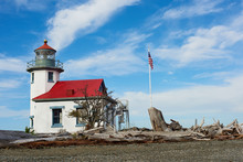 The Lighthouse At Point Robins...