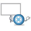 Bring board Gxshares coin character cartoon