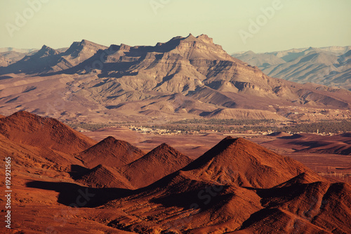 Papiers peints Corail Mountains in Morocco
