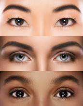 Different Female Eyes