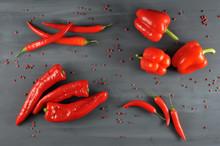 Sweet Pepper, Ramiro, Hot Caye...
