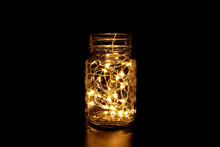 Beautiful Mason Jar Fairy Light In The Dark