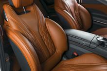 Modern Luxury Car Inside. Inte...