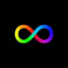 Vector Infinity Symbol Icon. L...