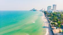 Aerial View Of Hua Hin City