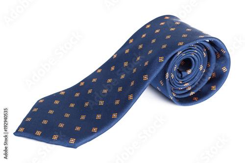 Fototapeta tie isolated on white obraz