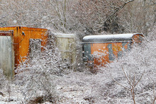 Abandoned Containers Or Metal ...