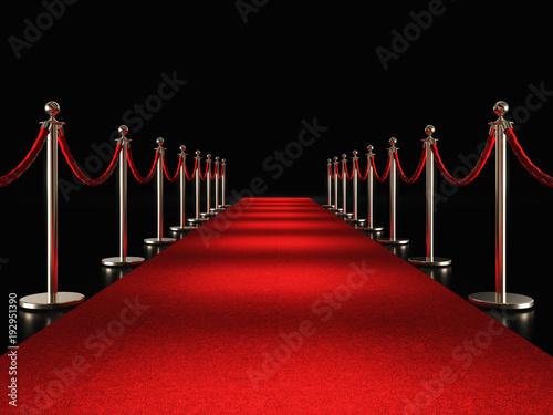 Photo  red carpet 3d