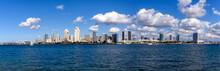 Wide Panorama Of San Diego Sky...