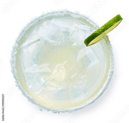 Fotomural Glass of Margarita cocktail