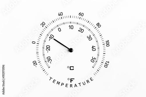 Minus Ten Degrees Celsius