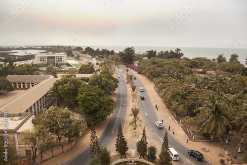 Photo View form Arch 22 in Banjul Gambia