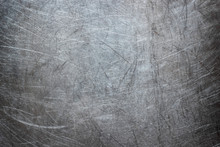 Grunge Background Of Stainless Steel, Metal Texture Closeup