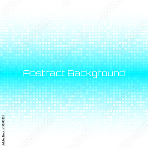 Abstract Bright Light Honey Blue Water Technology Business Cover Background. Vector illustration. Fototapete