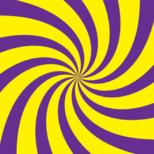 Yellow-purple Radial Background