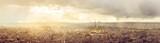 Fototapeta Fototapety Paryż - High Resolution Panorama Of Paris Skyline With Eiffel Tower
