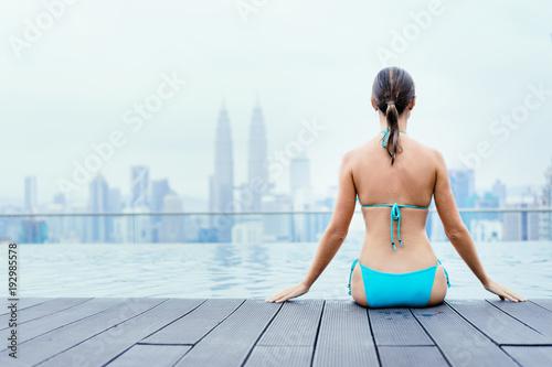 Obraz na plátne  Vacation in Kuala-Lumpur