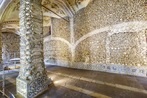 Papel de parede Chapel of Bones in Royal Church of St